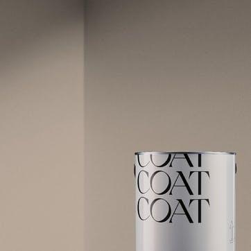 Flat Matt Wall & Ceiling Paint, Pudding Dark Beige 2.5L