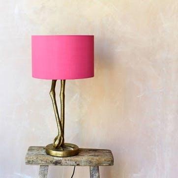 Leggy Flamingo Table Lamp, Gold