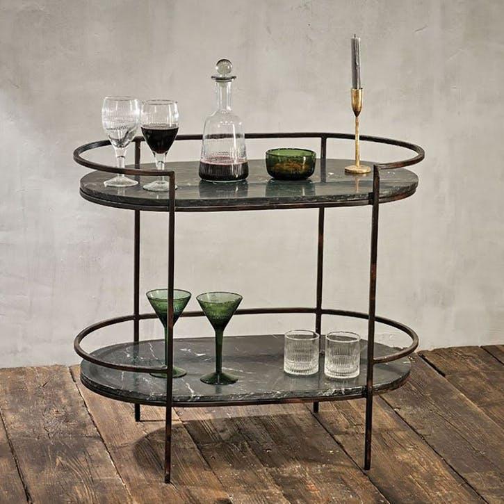 Karoko Marble Drinks Table
