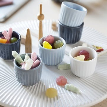 Hammershøi Egg Cups, Set of 2, White