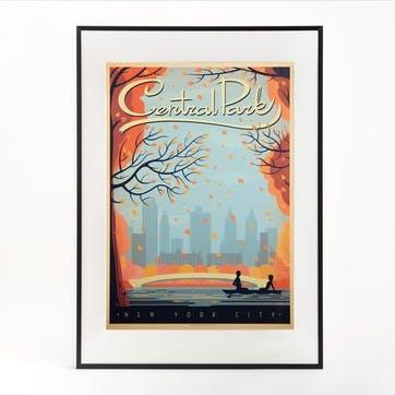 Central Park Print, Autumn