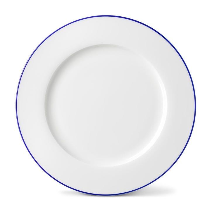 Rainbow Dinner Plate, Lapis Lazuli