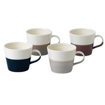 Coffee Studio Mug, Set of 4
