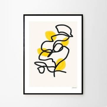 Lemons, Lisa Wirenfelt Art Print