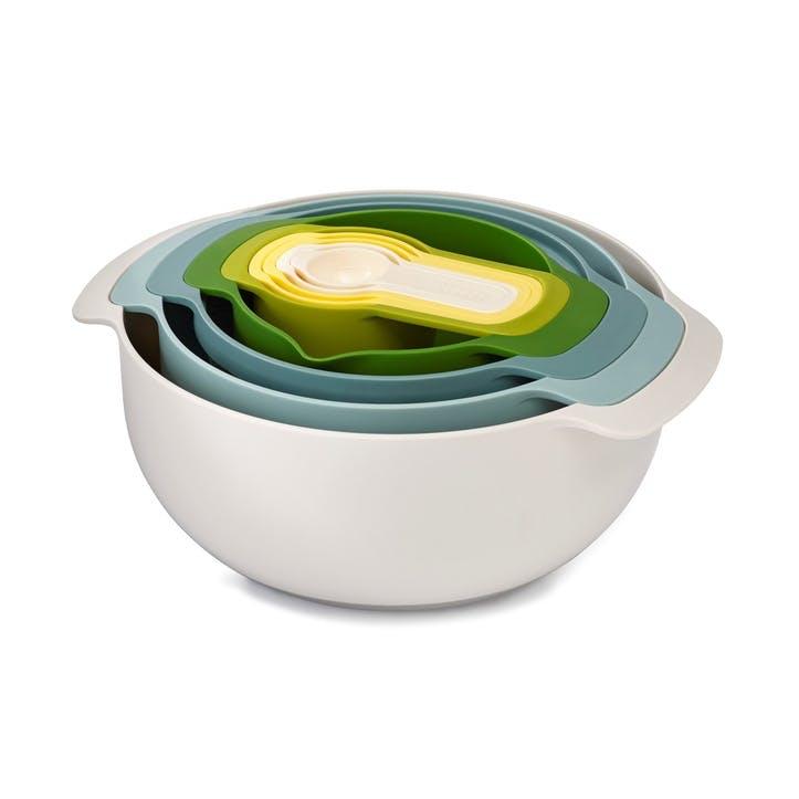 Opal Nest Plus 9 Piece Nesting Bowl Set