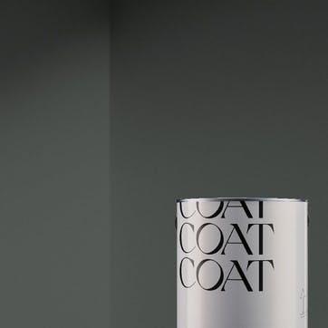 Flat Matt Wall & Ceiling Paint, The Coal Soft Charcoal Grey 2.5L
