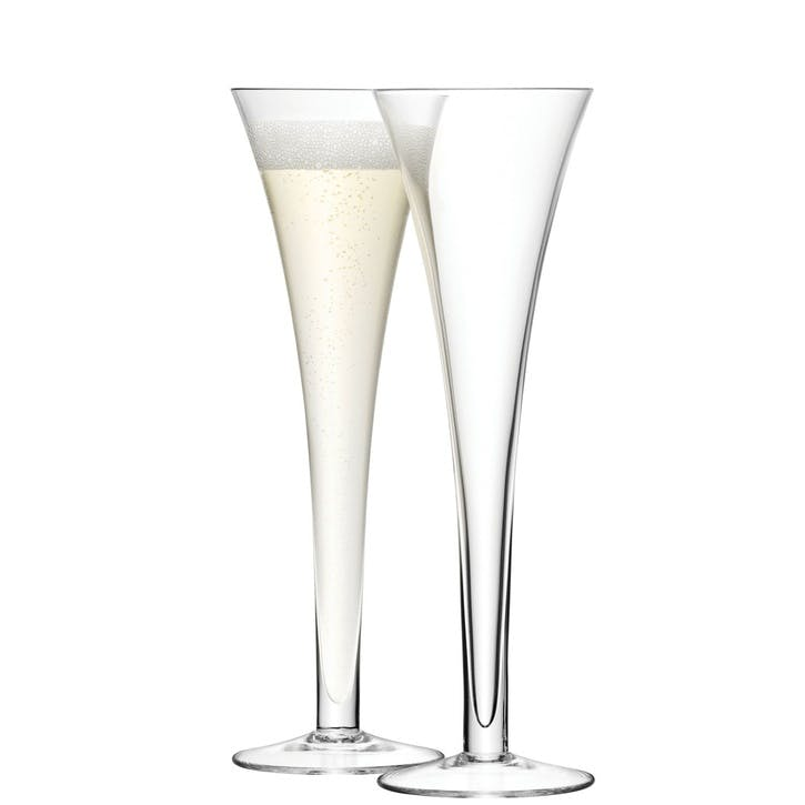 LSA Bar Champagne Flute, 200ml, Set of 2