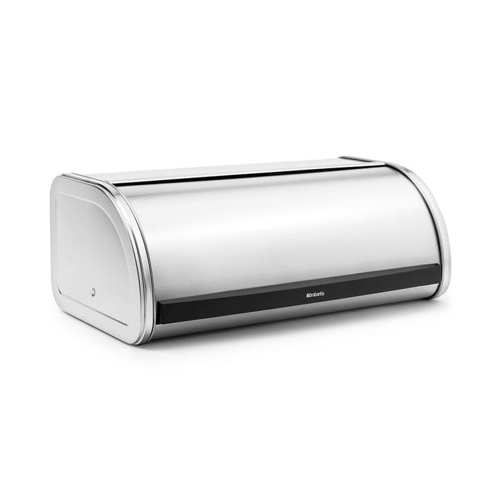 Roll Top Bread Bin, Matt Steel