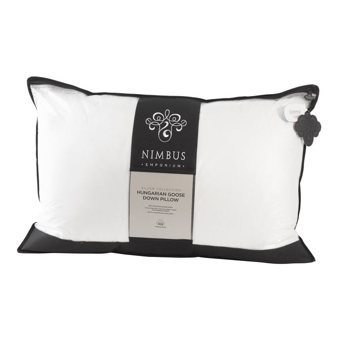 Silver Collection Hungarian Goose Down Pillow