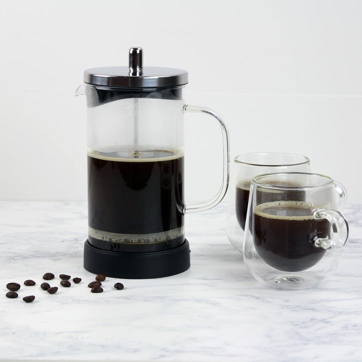 8 Cup Classic Glass Cafetiere - 925ml