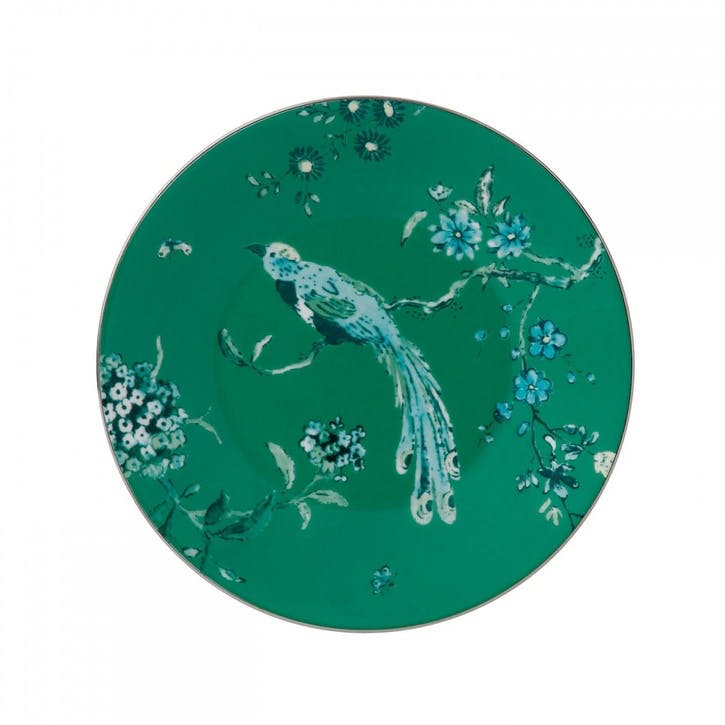 Chinoiserie Side Plate, Green