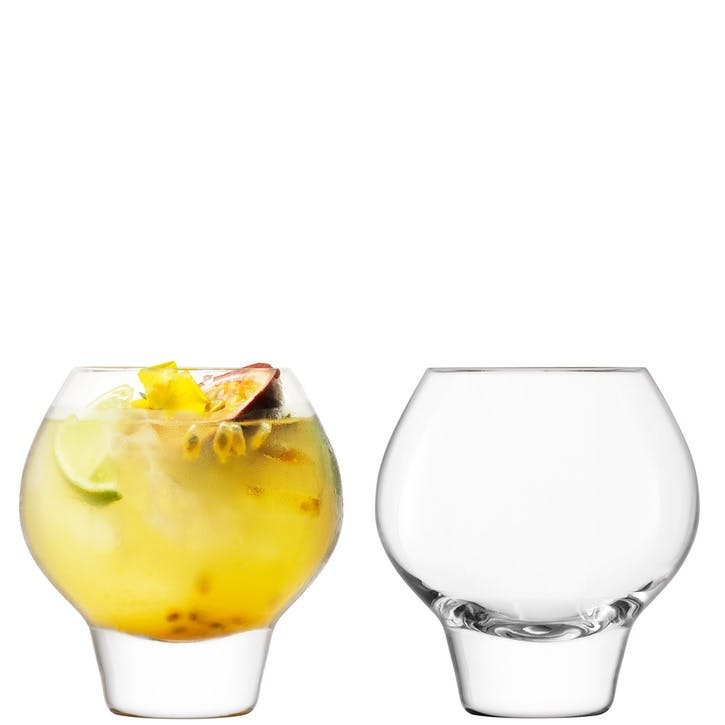 Rum Punchbowl Set Clear