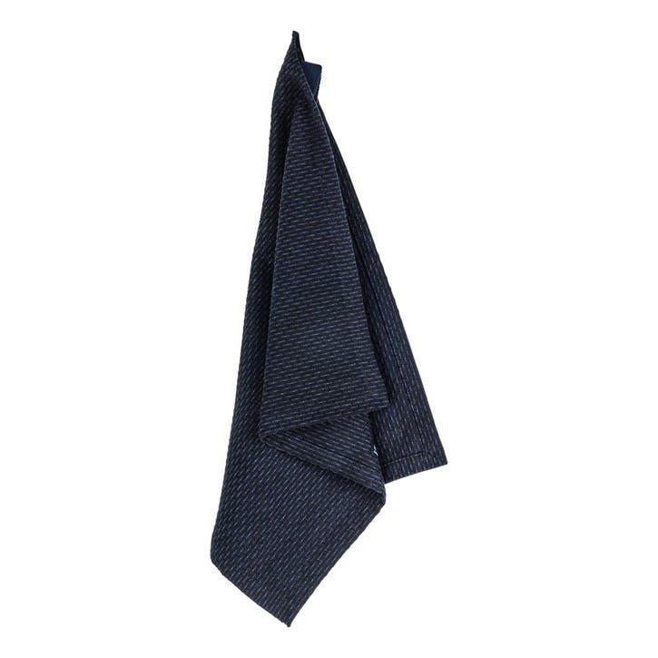 Pique Weave Kitchen Wash Cloth, L35 x W30cm, Dark Blue