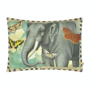 John Derian Elephant's Trunk Sky Cushion