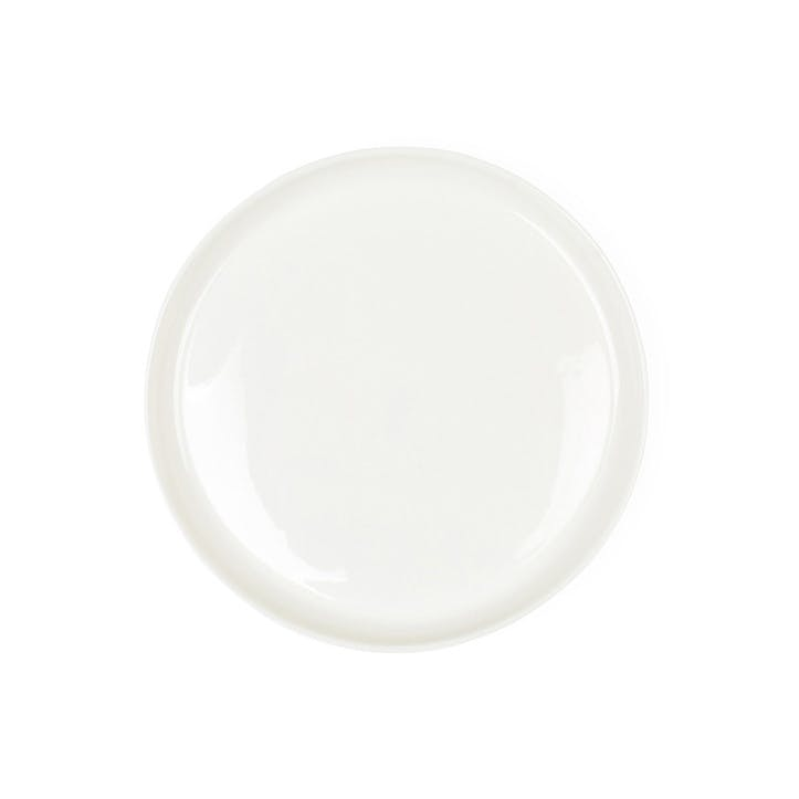 Porcelain Milk White Side Plate, 22cm