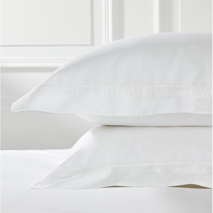 Cavendish Oxford Pillowcase, Standard, White