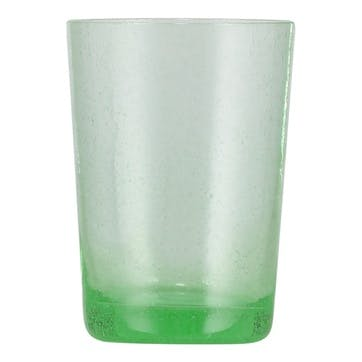 Tumblers, Set of 6, 340ml, Malachite Green