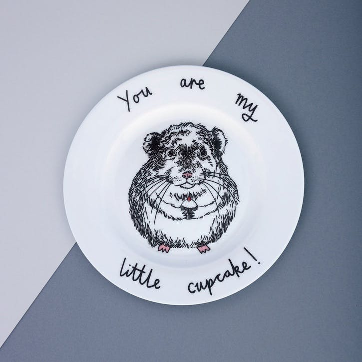 'You Are My Little Cupcake' Side Plate