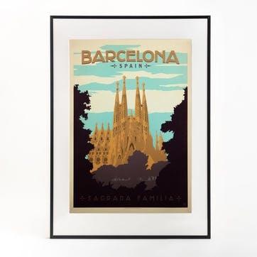 Barcelona Print