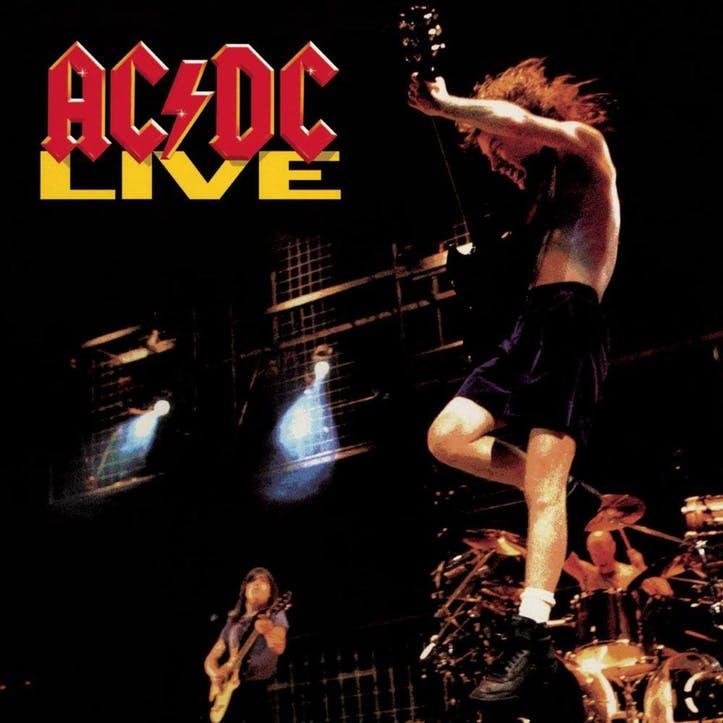 """AC/DC, LIVE 12"""" Vinyl"""
