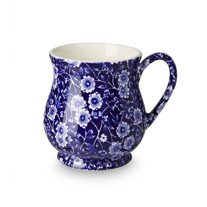 Calico Sandringham Mug, 284ml, Blue