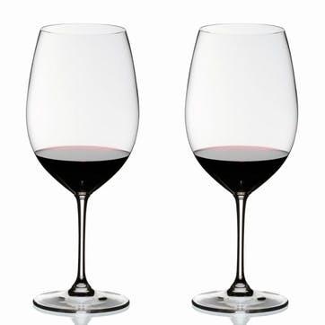 Vinum Cabernet Sauvignon/Merlot/Bordeaux Glasses, Set of 2