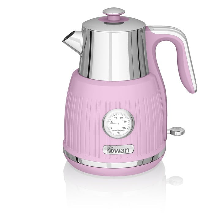 Retro Jug Kettle, Pink