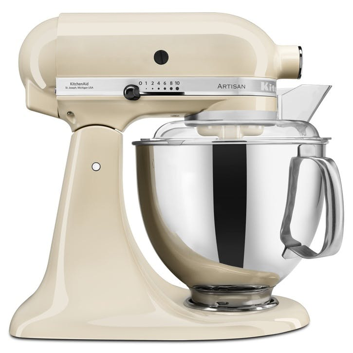 Artisan Stand Mixer with FREE 4.8L Glass Mixing Bowl, 4.8L, Almond Cream