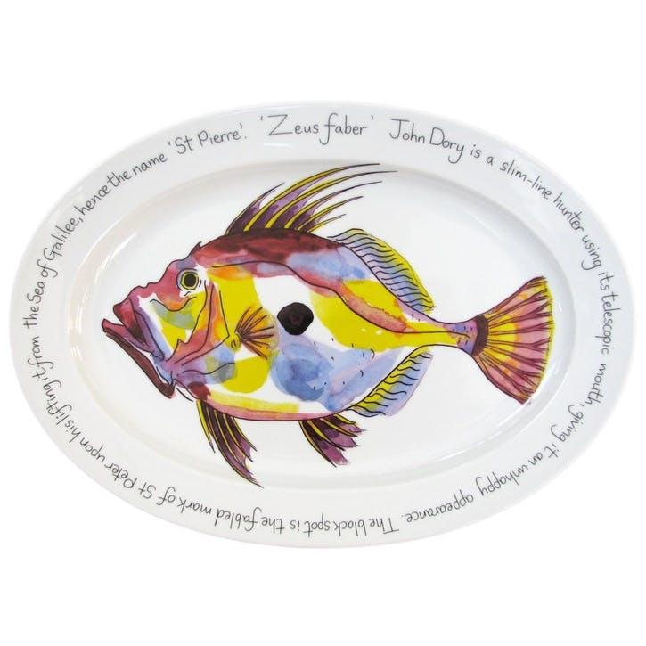 John Dory Oval Plate - 39cm