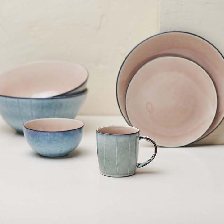 Bao Side Plate; Dusky Pink