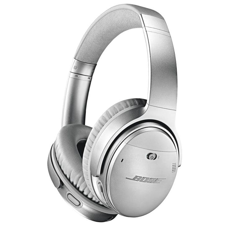 QuietComfort QC35 II Wireless Bluetooth Noise-Cancelling Headphones; Silver
