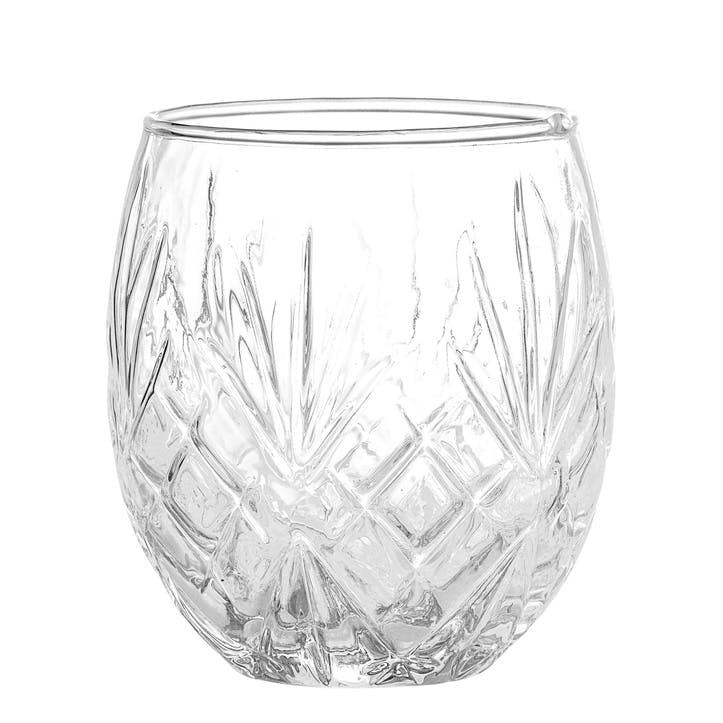 Etched Glass Votive