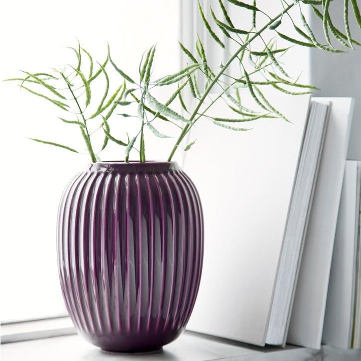 Hammershøi Vase, Large, Plum