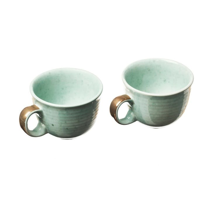 Stoneware Coffee Mug, Set of 2