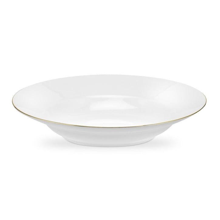 Serendipity Soup Plate, Set of 4; Gold