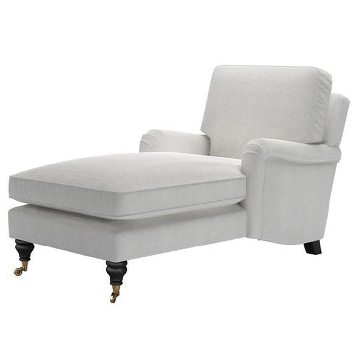 Bluebell Day Bed, Nickel Pure Belgian Linen
