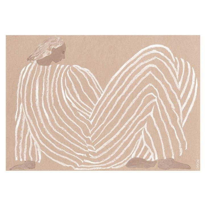 Me - Sofia Lind Art Print D50cm x H70cm