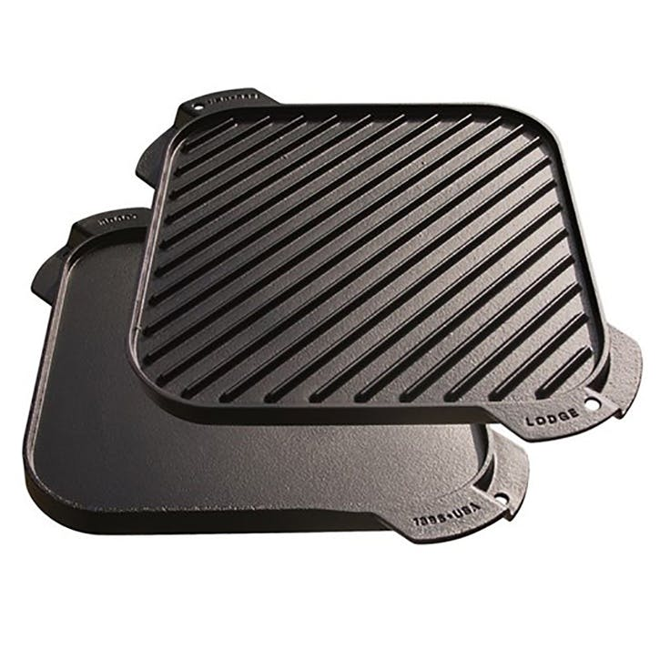 Square reversible griddle, 27 x 27 x 1.59cm