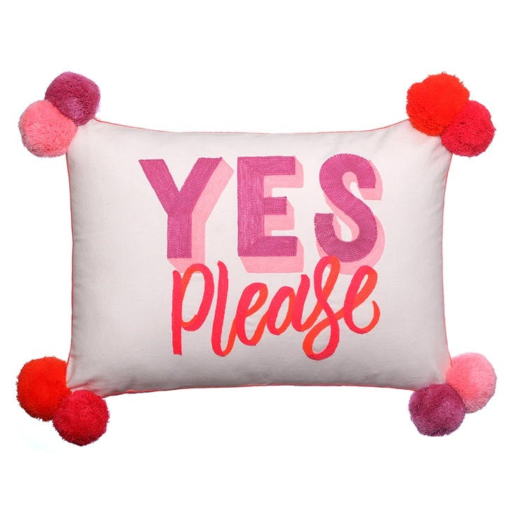 Yes Please / No Thanks Cushion