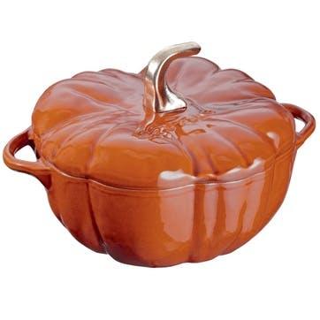 Cast Iron Pumpkin Cocotte
