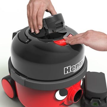 Henry Cordless Vacuum Cleaner; Red
