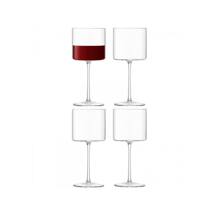 LSA Otis Red Wine Glass, Set of 4, 240ml