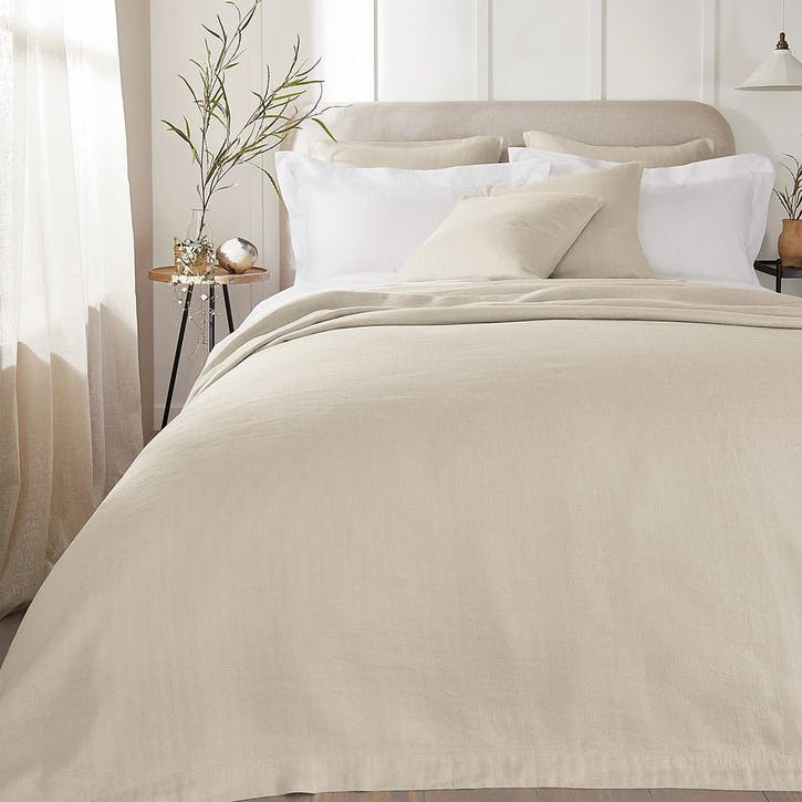 Wilton, King Bedspread, Natural