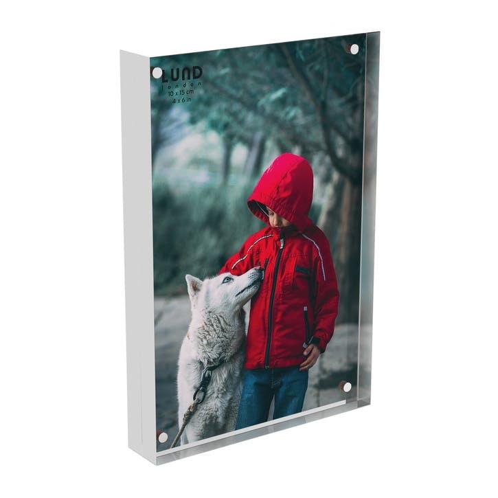 Skittle, Magnet Frame, H15 X W10cm, White