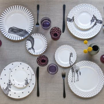 Party Pup Dinner Plate