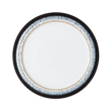 Halo Small Plate, 20.5cm, Black/ Blue