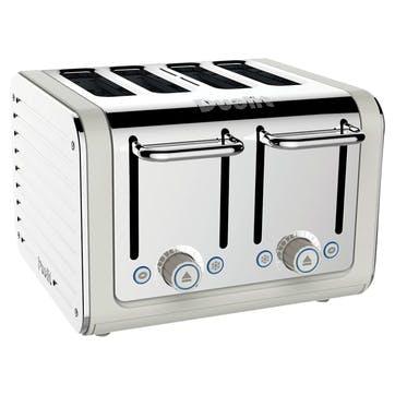 Architect Toaster, 4 Slot; Canvas White