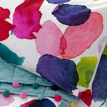 Abstract Superking Size Duvet Cover & Pillowcase Set