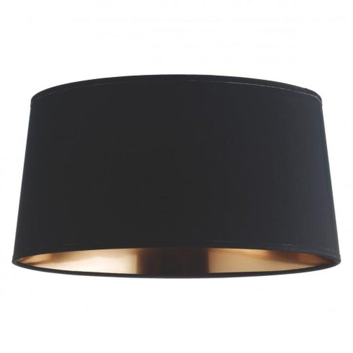 Grande Drum Lampshade, Copper/Black