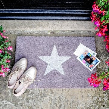 Glitter Star Doormat